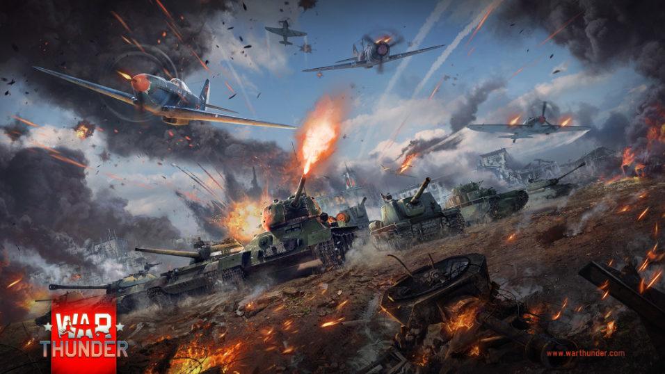 скачать бесплатно War Thunder
