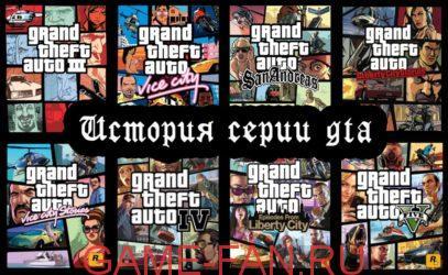 А кто же не слышал о Grand Theft Auto (ГТА)? Игра то игра. Первой частью которую я играл была ГТА 2 с камерой от третьего лица с верху, и первую свою машину Жук ;)