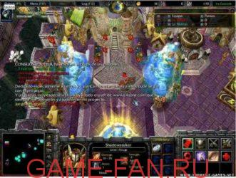 новые карты для warcraft 3 frozen throne